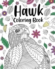 Hawk Coloring Book Cover Image