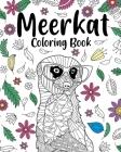Meerkat Coloring Book Cover Image