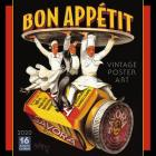 2020 Bon Appetit Vintage Poster Art 16-Month Wall Calendar: By Sellers Publishing Cover Image