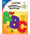 Letters and Sounds, Grades K - 1: Gold Star Edition (Home Workbooks: Gold Star Edition) Cover Image
