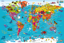 Collins Children's World Map Cover Image