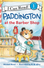 Paddington at the Barber Shop (I Can Read Level 1) Cover Image