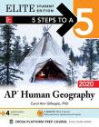 5 Steps to a 5: AP Human Geography 2020 Elite Student Edition Cover Image
