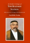 An Insider's Critique of the Kazakh Nation: Reflections on the Writings of Abai Kunanbai-uhli Cover Image