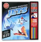 Straw Shooter Jets: Make Your Own Mini Air Force [With 14 Straws, 10 Nose Weights, 30 Fleet Sheets and Stencils] Cover Image