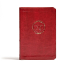 CSB Military Bible, Burgundy LeatherTouch Cover Image