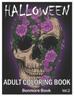 Halloween: Adult Coloring Book with Beautiful Flowers, Adorable Animals, Spooky Characters, and Relaxing Fall Designs Volume 2 Cover Image