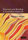 Structure and Bonding in Crystalline Materials Cover Image