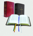 The Book of Common Prayer and Bible Combination Edition (NRSV with Apocrypha): Red Bonded Leather Cover Image