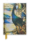 Tiffany Landscape Leaded Glass Window (Foiled Journal) (Flame Tree Notebooks #7) Cover Image