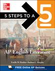 5 Steps to a 5 AP English Literature, 2014-2015 Edition Cover Image