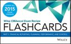 Wiley Cmaexcel Exam Review 2015 Flashcards: Part 1, Financial Planning, Performance and Control Cover Image