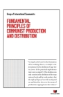 Fundamental Principles of Communist Production and Distribution Cover Image