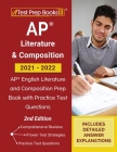 AP Literature and Composition 2021 - 2022: AP English Literature and Composition Prep Book with Practice Test Questions [2nd Edition] Cover Image
