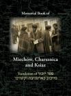 Miechov Memorial Book, Charsznica and Ksiaz: Translation of Sefer Yizkor Miechow, Charsznica, Ksiaz Cover Image