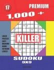 1,000 + Premium sudoku killer 9x9: Logic puzzles easy - medium - hard - extreme levels Cover Image