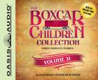 The Boxcar Children Collection Volume 34 (Library Edition): The Mystery of the Haunted Boxcar, The Clue in the Corn Maze, The Ghost of the Chattering Bones Cover Image