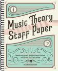Music Theory Staff Paper: Manuscript Paper with Keyboard Layout and Space for Note-Taking Cover Image