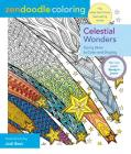 Zendoodle Coloring: Celestial Wonders: Starry Skies to Color and Display Cover Image