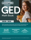 GED Math Book 2020-2021: GED Preparation Study Guide with Practice Test Questions for the General Educational Development Mathematics Exam Cover Image