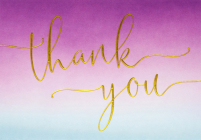 Amethyst Thank You Notes Cover Image