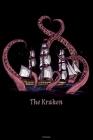 The Kraken Notebook: Octopus and Ship Journal Kraken Composition Book Giant Squid Gift Cover Image
