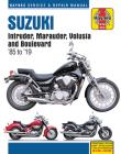 Suzuki Intruder, Marauder, Volusia and Boulevard Haynes Service & Repair Manual: 1985 to 2019 (Haynes Powersport) Cover Image