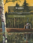 Walden: Life in the Woods, and On The Duty Of Civil Disobedience: Large Print Cover Image