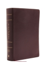 The King James Study Bible, Bonded Leather, Burgundy, Full-Color Edition Cover Image