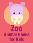 Zoo Animal Books For Kids: Funny Image age 2-5, special Christmas design Cover Image