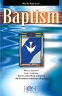 Pamphlet: Baptism Cover Image