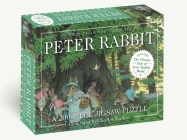 The Classic Tale of Peter Rabbit 200-Piece Jigsaw Puzzle & Book: A 200-Piece Family Jigsaw Puzzle Featuring the Classic Tale of Peter Rabbit! (The Classic Edition) Cover Image