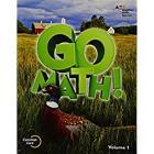 Student Edition Volume 1 Grade 5 2015 (Go Math!) Cover Image
