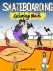 Skateboarding Coloring Book Cover Image