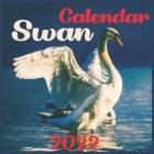 Swan CALENDAR 2022: Official Swan CALENDAR 2022, Cute Animal Calendar,12 Month, Office Calendar Swan, Square CALENDAR 2022 Cover Image