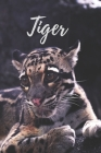 Tiger: Notebook with Animals for Kids, Teenagers, for Drawing and Writing: Animal, Nature, Notebook, Journal, Diary (110 Page Cover Image
