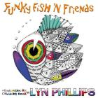Funky Fish 'N Friends: Dream Doodles (Challenging Art Colouring Books #1) Cover Image