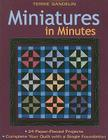 Miniatures in Minutes - Print on Demand Edition [With Pattern(s)] Cover Image
