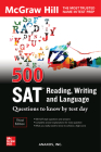 500 SAT Reading, Writing and Language Questions to Know by Test Day, Third Edition Cover Image
