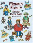Monkey Family Sticker Paper Dolls Cover Image