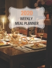 2020 Weekly Meal Planner: 55 Week Meal Planner, Recipe, (112 Pages, Blank, 8.5 x 11) Cover Image