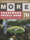 Large Crossword puzzles for Seniors: beginners crossword puzzle books for adults - More Crosswords Quiz for beginners Large Print for adults & senior Cover Image