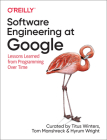 Software Engineering at Google: Lessons Learned from Programming Over Time Cover Image