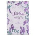 Gift Book Wisdom from the Word for Women Hc Cover Image