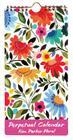 Kim Parker Floral Perpetual Calendar Cover Image