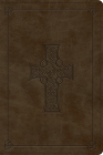 ESV Personal Reference Bible (Trutone, Olive, Celtic Cross Design) Cover Image