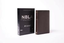 Nbla Biblia Ultrafina, Letra Grande, Colección Premier, Café: Edición Limitada Cover Image