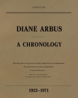 Diane Arbus: A Chronology, 1923-1971 Cover Image