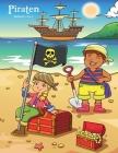 Piraten Malbuch 1, 2 & 3 Cover Image