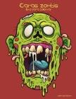 Caras zombis libro para colorear Cover Image